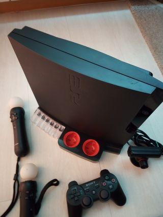 PS3 nueva con accesorios