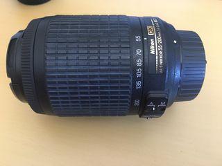 Teleobjetivo Nikon 55-200