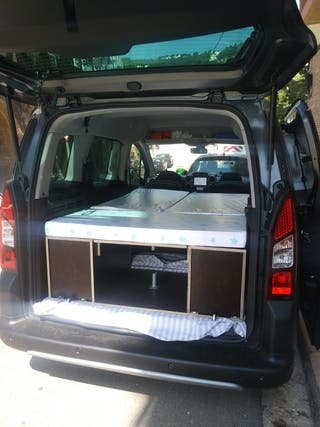 cama  furgoneta de segunda mano en wallapop