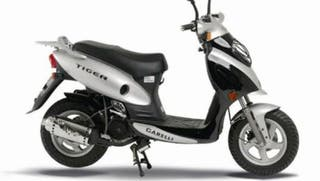 Garelli tiger 125 chasis documentado 150€