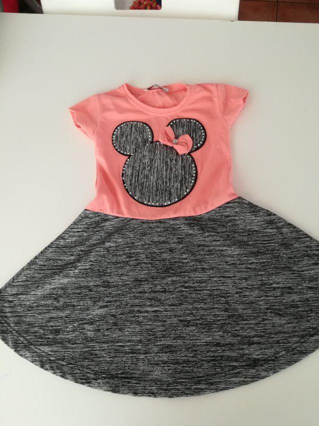 Vestidos Minnie Mouse Talla 12 Años De Segunda Mano Por 7