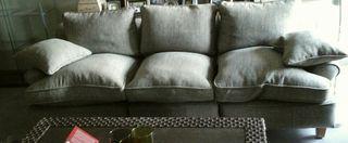 sofà de plumas