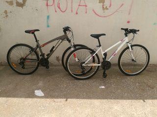 las dos bicicletas