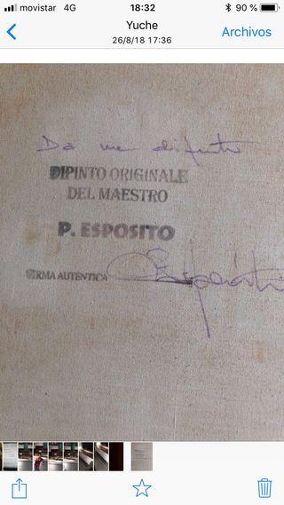 Cuadro de Pasquale Esposito 145x67