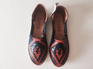 Zapatos piel mujer. NUEVOS.