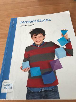 MATEMÁTICAS DBH1