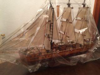 Maqueta barco clasico