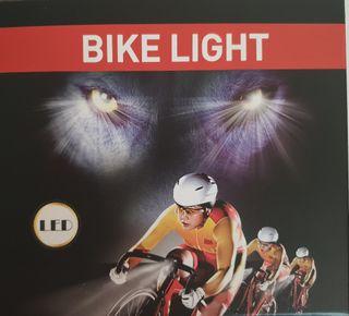 Foco Led Bici 6000 Lumen, nuevo