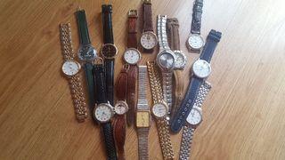 Colección de 14 relojes