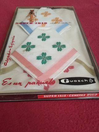 6 pañuelos bolsillo firma guasch