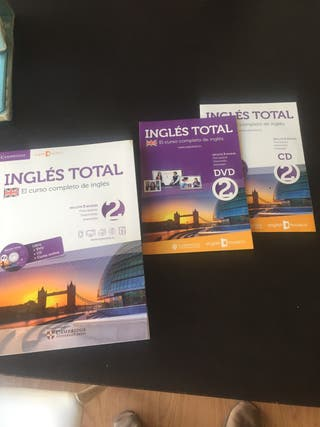 Libro ingles total (incluye CD y DVD)