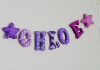 Nombre personalisado - 5 letras elige colores