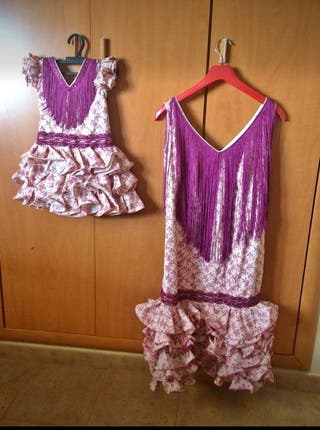 Vestidos de flamenca madre e hija