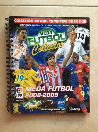 Álbum Megafutbol 2008-09