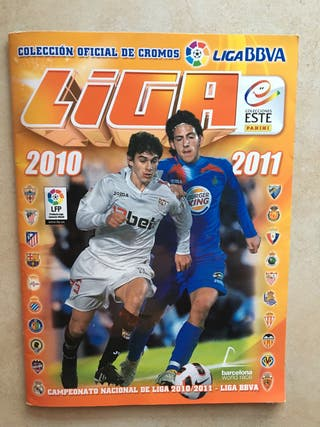 Álbum Cromos Liga 2010-11