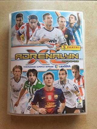 Álbum Adrenalyn 2012-13