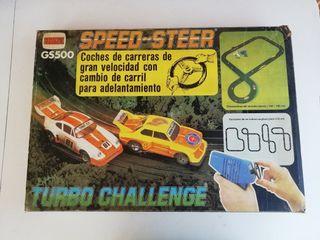 Scalextric Circuito Speed-Steer GS-500 Comansi