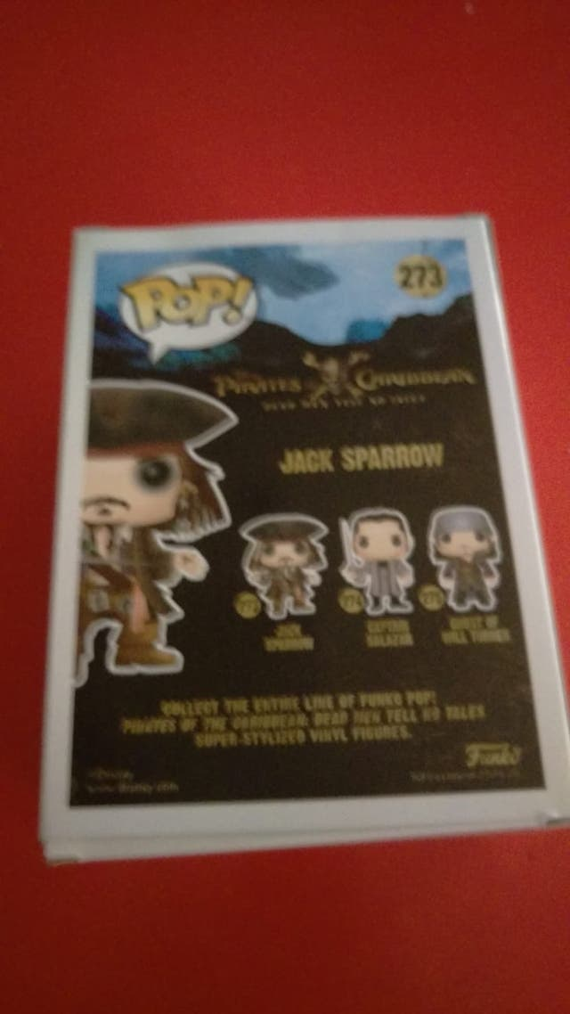 Figura POP Jack Sparrow Gold