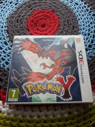 Pokémon Y para Nintendo 3DS.