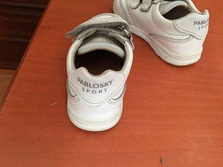 Zapatillas piel ,de niño