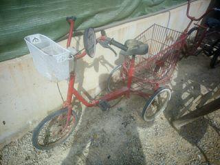 triciclo para restaurar