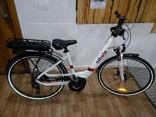 bicicleta de paseo eléctrica Nihola 28 pulgadas