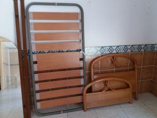cama de 90 completa en buen estado