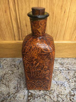 Botella decorativa