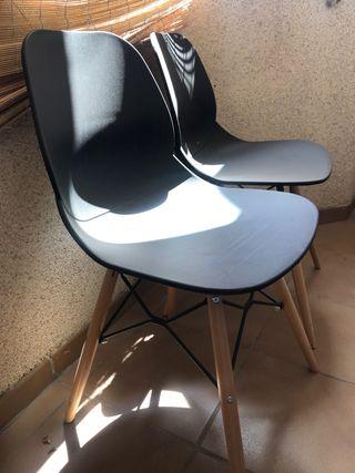 2 sillas para casa u oficina