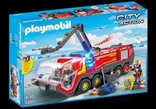 Ofertón Playmobil - Camión gigante de BOMBEROS
