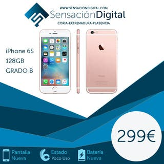 iPhone 6s 128gb !!!! Con garantía