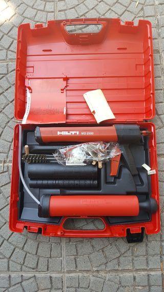 Pistola para taco químico Hilti MD2500