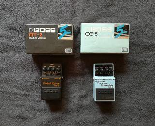 Pack de pedales para guitarra eléctrica BOSS