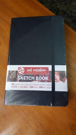 2 Cuadernos de dibujo Sketch Book