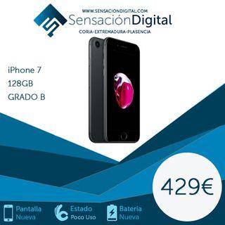 iPhone 7 128gb !!!!! Libre con garantía