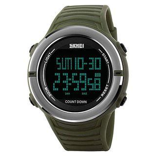 Reloj digital militar