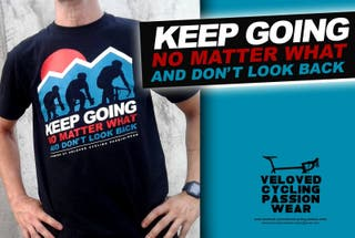 "CAMISETA ""KEEP GOING"" - VELOVED"