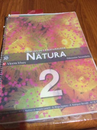 Libro ciencias naturales 2 eso