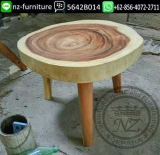 Natural Ethnic Coffee Table ...