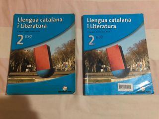 Llibres llengua catalana i literatura 2n ESO
