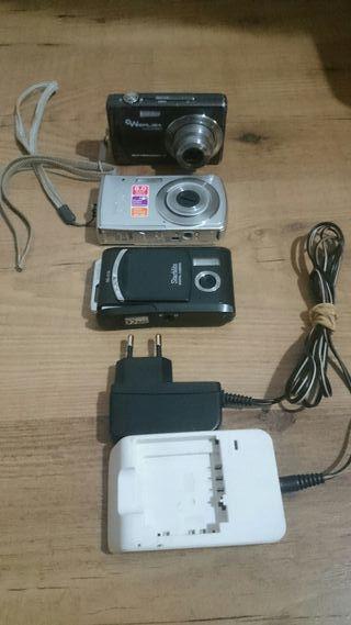 Pack 3 X Camaras foto Digital