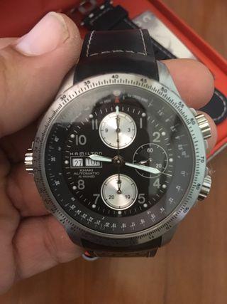 Reloj Hamilton Automático Khaki X-Wind