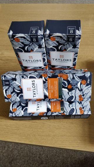 coffee capsules Taylors of Harrogate