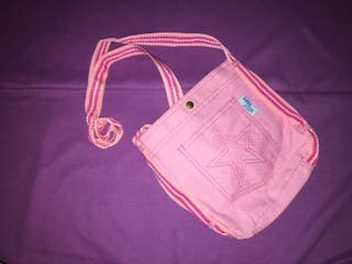 Bolso bandolera rosa de agua de vida