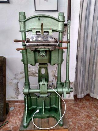 Prensa termoimpresión, máquina de estampación