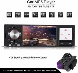 Radio de coche con pantalla