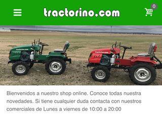 Minitractores -Tractorino.