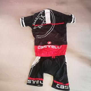 maillot y culote Castelli
