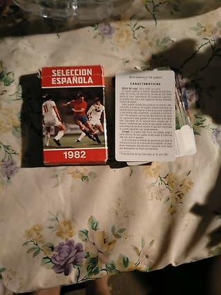 Cartas Seleccion española 1982