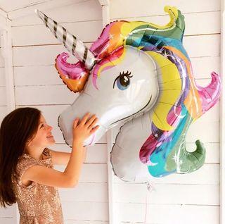 Gigante, Globo cumpleaños, unicornio